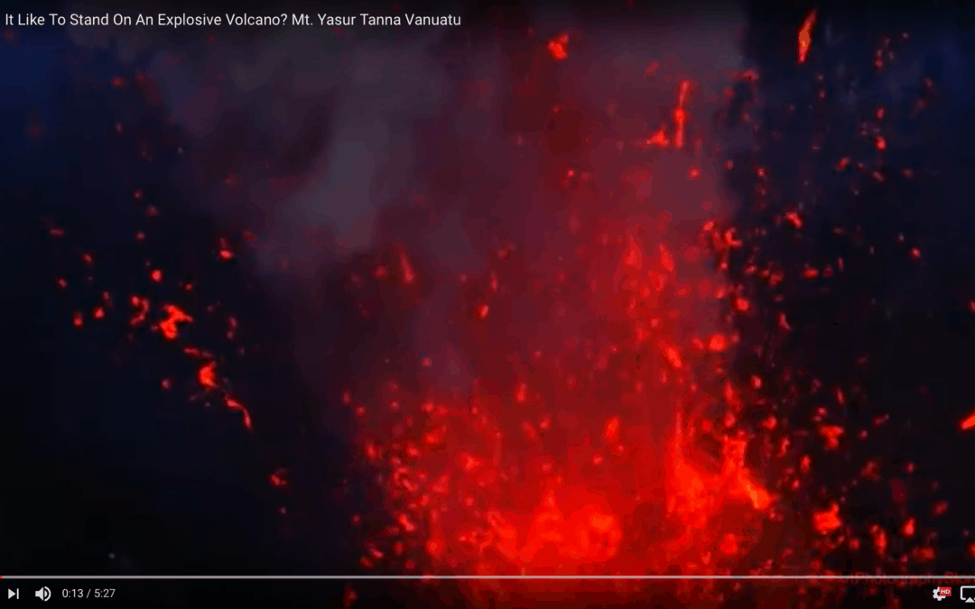 Experience What's It Like To Stand On An Explosive Volcano?